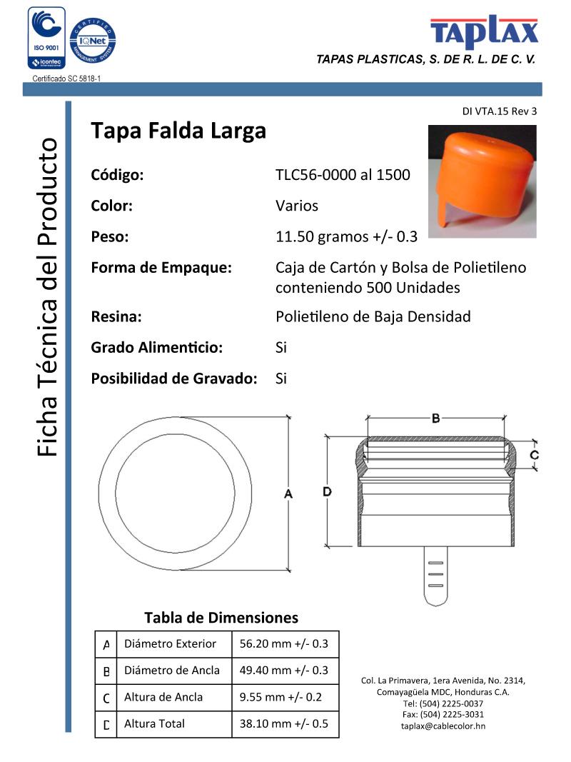TAPLAX - Tapas Plásticas de Honduras